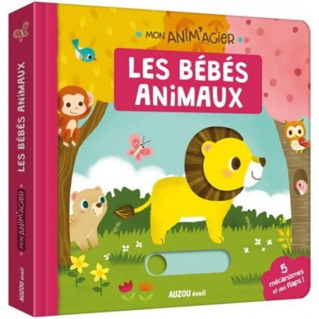 Auzou Auzou - Livre Mon Anim'agier, Les Bébés Animaux