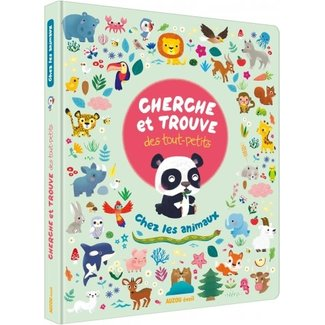 Auzou Auzou - Look and Find Book for Little Ones, With the Animals