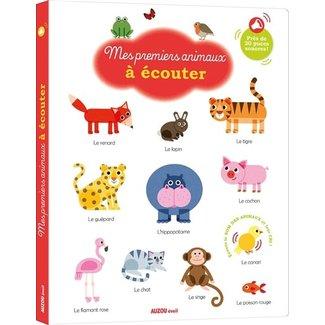 Auzou Auzou - Sound Book, My First Animals
