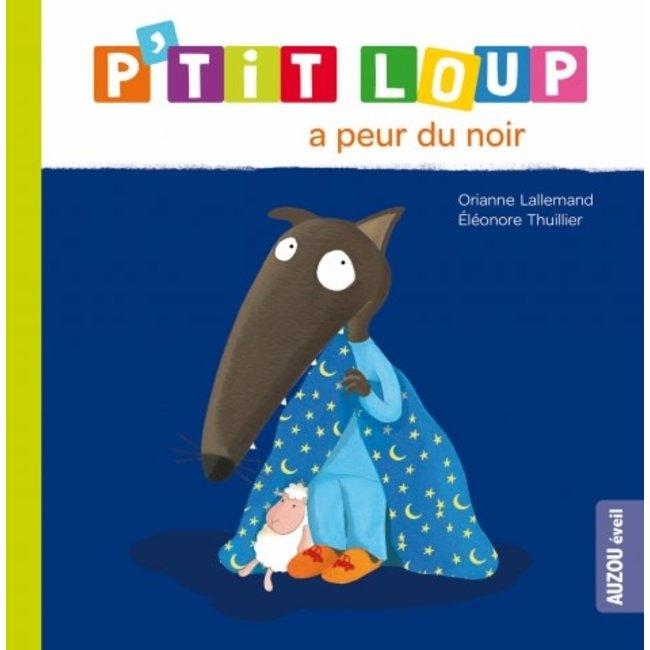 Auzou Auzou - Livre, P'tit Loup A Peur du Noir