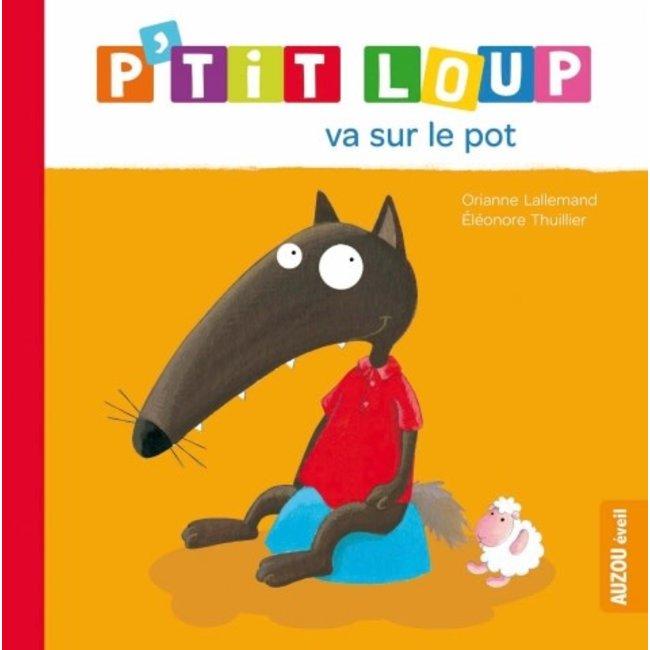 Auzou Auzou - Livre, P'tit Loup Va sur le Pot