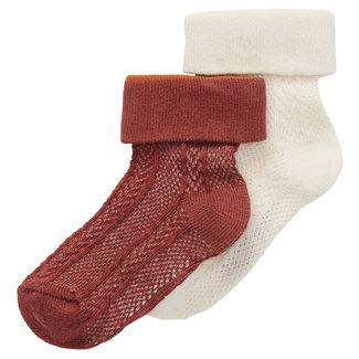 Noppies Noppies - 2 Pairs of Socks, Sandy