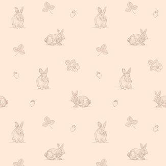 Meraki Meraki -  Adhesive Wall Covering, Pink Jeannot