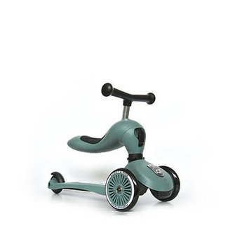 Scoot & Ride Scoot & Ride - 2-en-1 Highwaykick 1 Scooter, Forest