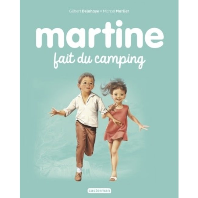 Éditions Casterman Éditions Casterman - Book, Martine Is Camping #9