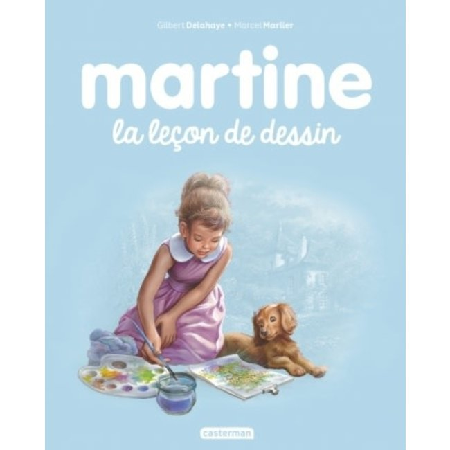 Éditions Casterman Éditions Casterman - Book, Martine, The Drawing Lesson #49