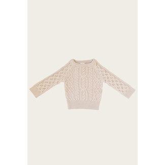 Jamie Kay Jamie Kay - Cable Knit Sweater, Pepper Marle