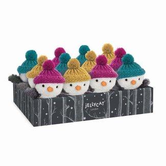 Jellycat Jellycat - Petit Pingouin d'Hiver, Moutarde