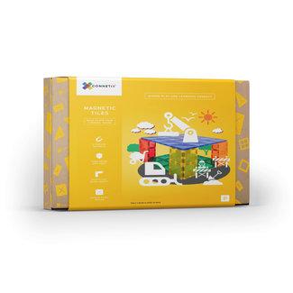 Connetix Connetix - Building Set with Magnetic Tiles, 2 Pieces Base Plate Pack