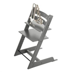 Stokke Stokke - Tripp Trapp Chair with Harness 2018, Storm Grey