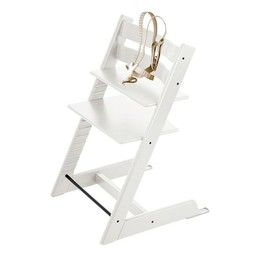 Stokke Stokke - Tripp Trapp Chair with Harness 2018, White