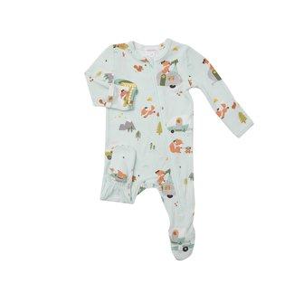 Angel Dear Angel Dear - Pyjama à Pattes, Renard Campeur