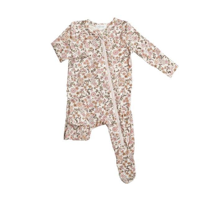 Angel Dear Angel Dear - Pyjama à Pattes à Volants, Calicot Vintage