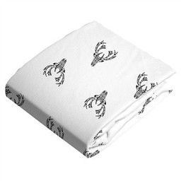 Kushies Kushies - Couvre-Matelas à Langer en Flanelle/Flannel Change Pad Fitted Sheet, Cerfs/Deers