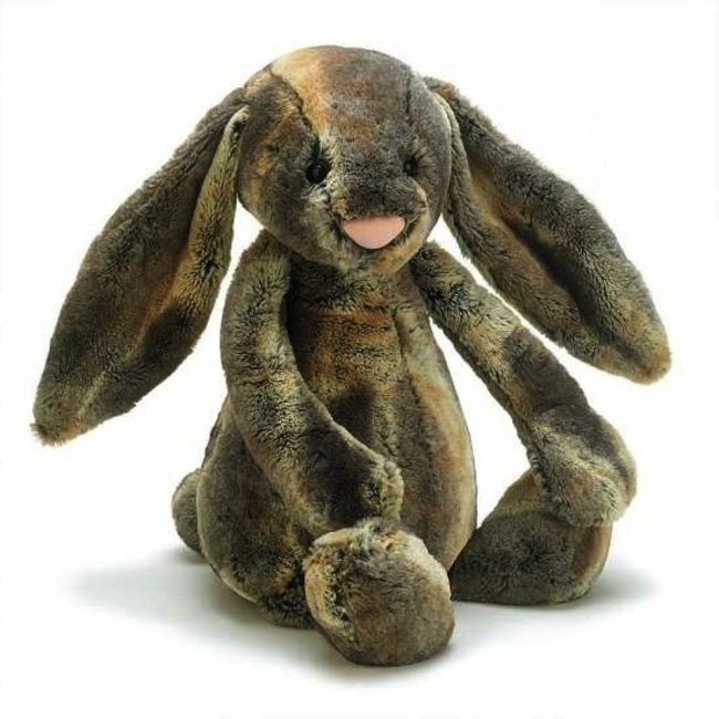 Jellycat Jellycat - Lapin des Bois /Woodland Bunny Babe,Très Grand/Huge, 21pouces/21 inches