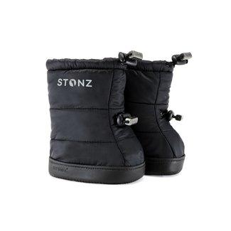 Stonz Stonz - Baby Puffer Booties, Black