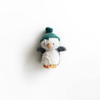 Jellycat Jellycat - Petit Pingouin d'Hiver, Sarcelle