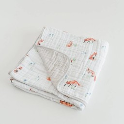 Little Unicorn Little Unicorn - Cotton Quilt, Fox
