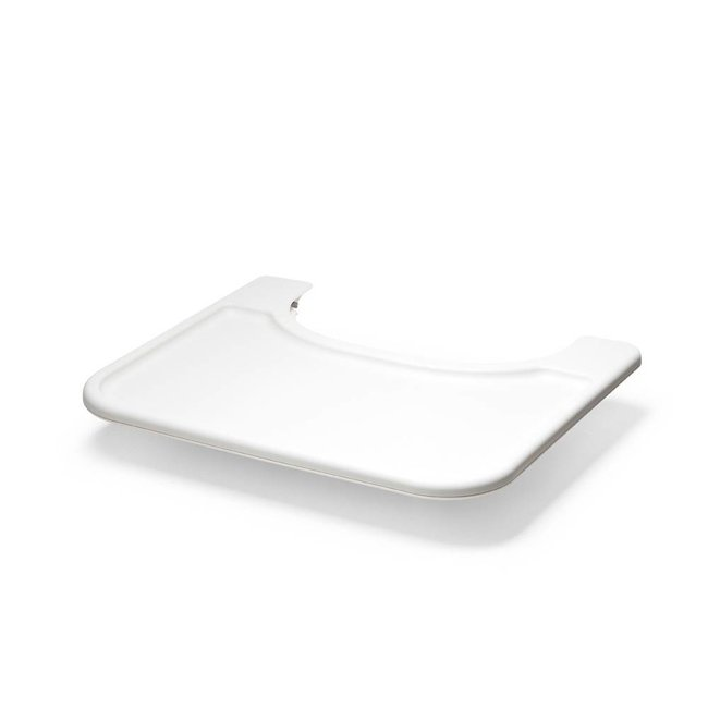 Stokke Stokke Steps - Plateau pour Chaise Haute/High Chair Tray Set, Blanc/White