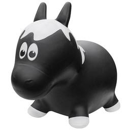 Farm Hoppers Farm Hoppers-Ballon Sauteur/Jumping Animals, Cheval Noir/Black Horse