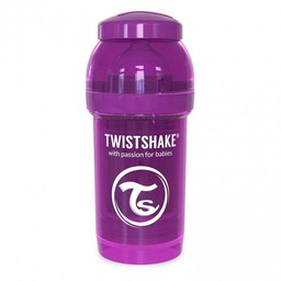Twistshake Twistshake - Biberon Anti-Colique 180 ml/180 ml Anti Colic Bottle, Mauve/Purple