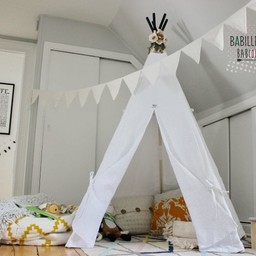 Babilles & Babioles Babilles & Babioles - Tipi, Blanc/White