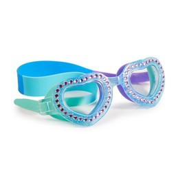 Bling 2 O Bling-2-O - Lunettes de Piscine/Swim Googles, Je T'aime Heart, Bleu Menthe/Blue Mint