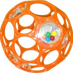 Oball Oball - Balle Hochet/Rattles, Orange