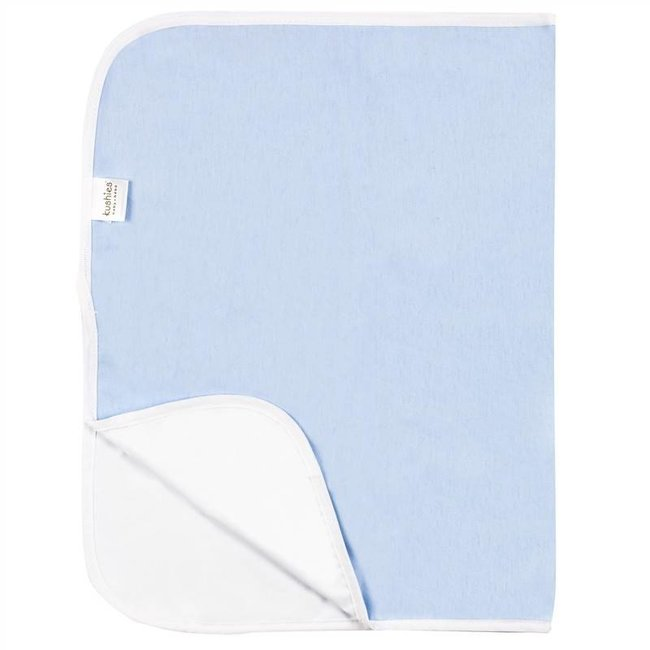 Kushies Piqué de Kushies Baby/Kushies Baby Change Pad, Bleu/Blue
