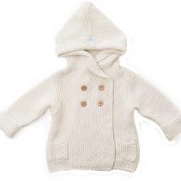 Beba Bean Beba Bean - Veste à Capuchon en Tricot/Crochet Knit Hoodie