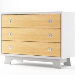 Dutailier Dutailier Pomelo - Commode à 3 Tiroirs/3 Drawers Dresser