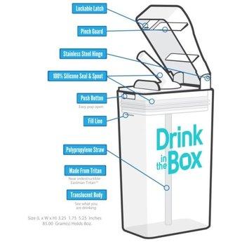 Juice in the Box Drink in the Box - Boîte de Jus Réutilisable/Reusable Juice Box