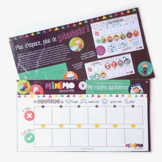Minimo Minimo - Extension de Tableau Ma Routine Quotidienne/My Daily Routine Extension