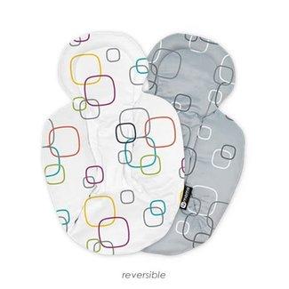 4moms 4moms - Coussin de Support Réversible pour Siège mamaRoo 4.0/Reversible Newborn Insert for MamaRoo 4.0 Infant Seat
