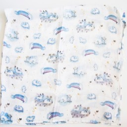 Loulou Lollipop Loulou Lollipop - Couverture en Bambou/Bamboo Swaddle, Licorne/Unicorn