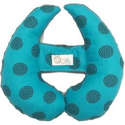 Oops Oops - Coussin de Tête Évolutif/Scalable Head Cushion, Bleuet/Blueberry