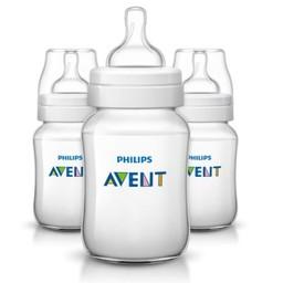 Philips Avent Philips AVENT - Ensemble de 3 Biberons Classic+/Set of 3 Classic+ Bottle, 9 Onces