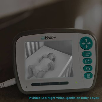 bblüv BBLüv - Moniteur Vidéo Numérique Tout-en-Un Viziö/Viziö All-in-One Digital Video Baby Monitor