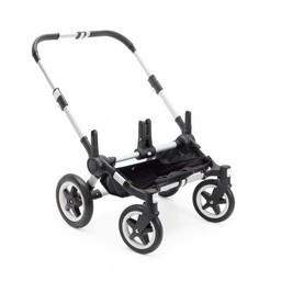 Bugaboo Bugaboo Donkey2 - Base pour Poussette/Base for Stroller, Aluminium et Noir/Aluminium and Black