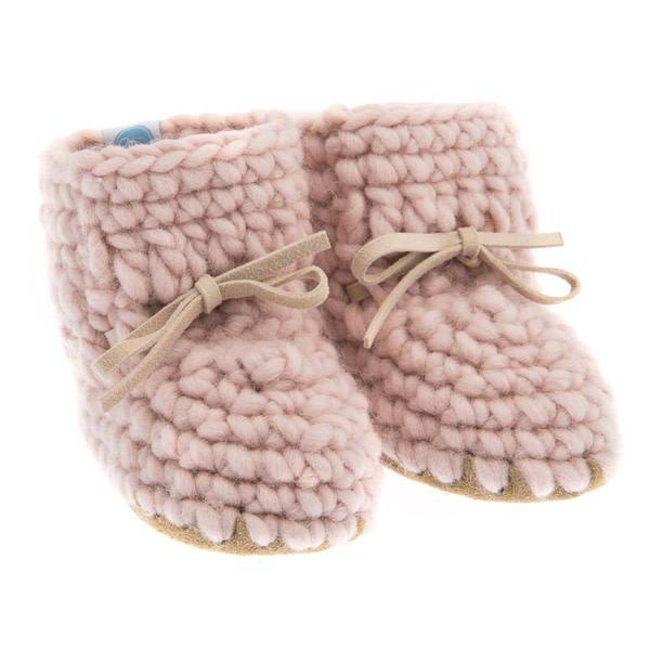 Beba Bean Beba Bean - Sweater Moccs, Pink