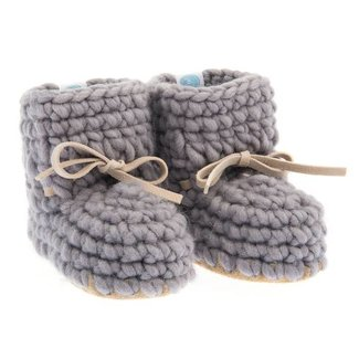 Beba Bean Beba Bean - Sweater Moccs, Grey