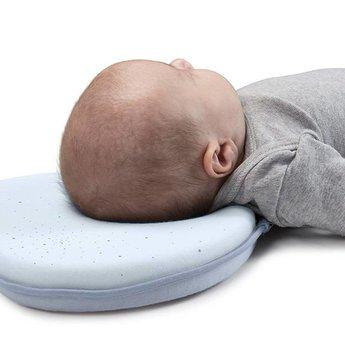 Babymoov Babymoov - Cale-Tête Ergonomique en Coton Doux/Soft Cotton Lovenest, Bleu/Blue