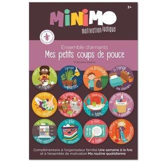 Minimo Minimo - Magnet Set My Little Helper