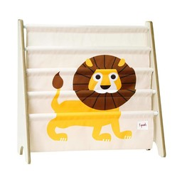 3 sprouts 3 Sprouts - Support à Livres/Book Rack, Lion Jaune/Yellow Lion
