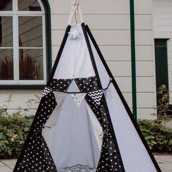 Babilles & Babioles Babilles & Babioles, Exclusivité - Tipi, Noir et Blanc Triangles/Black and White Triangles
