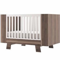 Dutailier Dutailier Pomelo - Convertible Crib, Walnut Brown