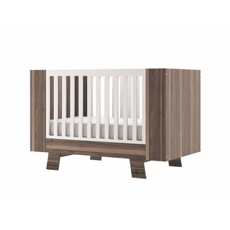 Dutailier Dutailier Pomelo - Convertible Crib, Walnut Brown