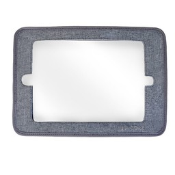 JJ Cole Miroir 2 en 1 de JJ Cole/ JJCole 2 in 1 Mirror, Gris/Grey
