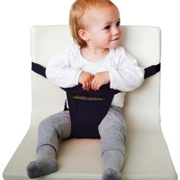 Minimonkey - Siège de Voyage MinichairNoir/Minichair Travel Seat Black