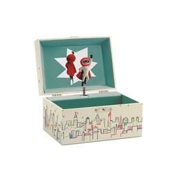 Djeco Boîte à Musique Mélodie de Mister Moon de Djeco/Djeco Musical Box Mister Moon Melody